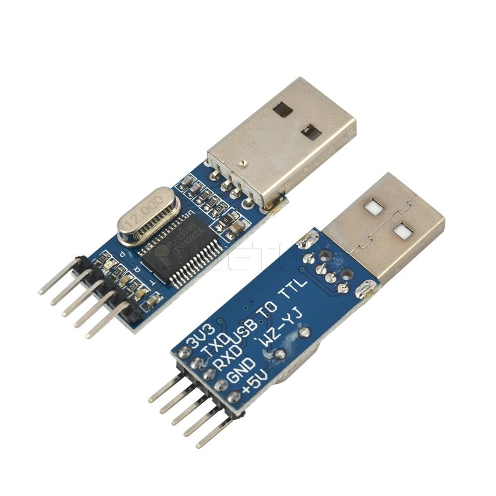 PL2303 USB to TTL converter pin layout